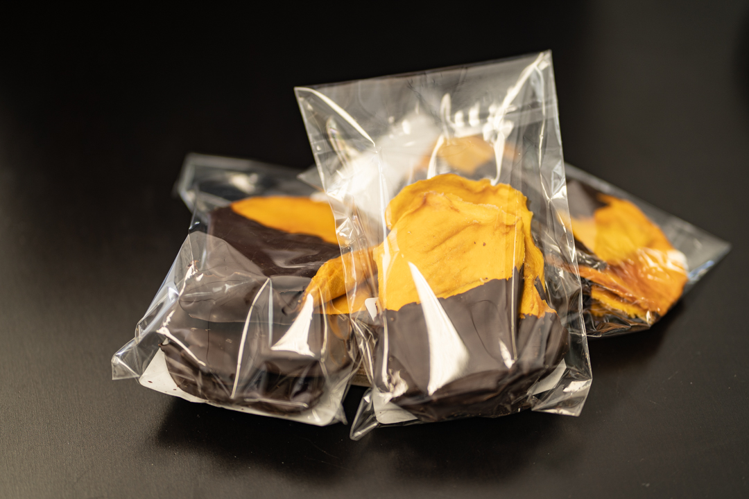 Chocolate Dipped Mango