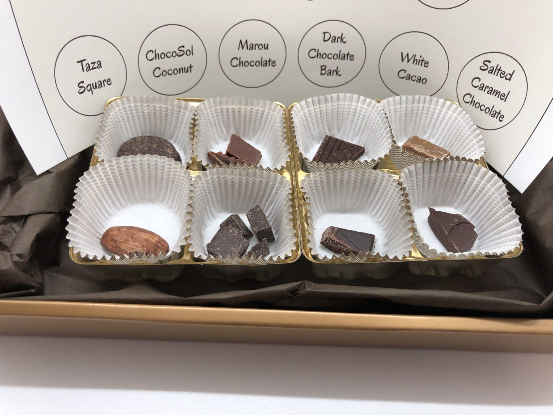 At-Home Chocolate Tasting Kit