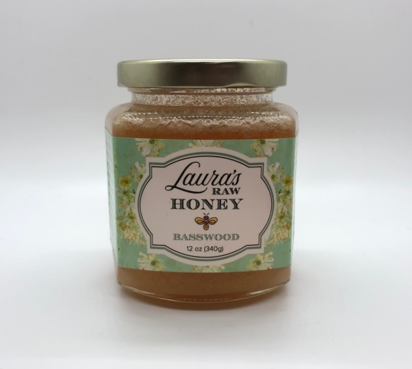 Laura's Raw Honey