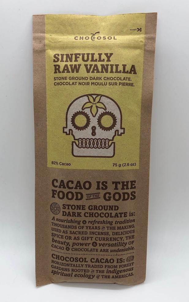 Chocosol Sinfully Raw Vanilla