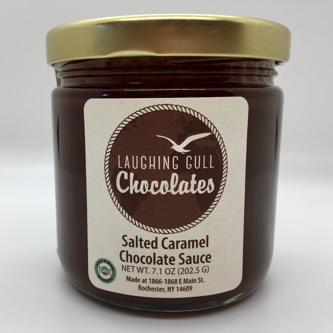 Salted Caramel Chocolate Sauce