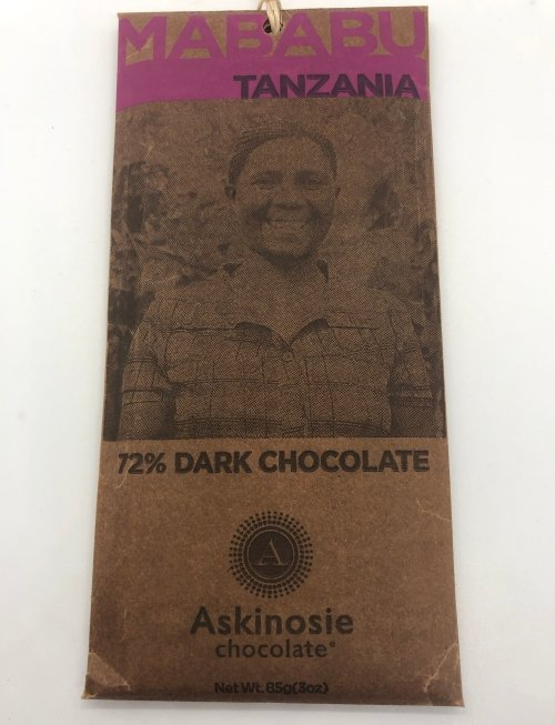 Askinosie Dark Chocolate