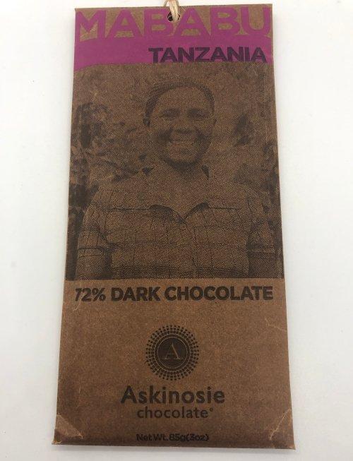 Askinosie Dark Chocolate