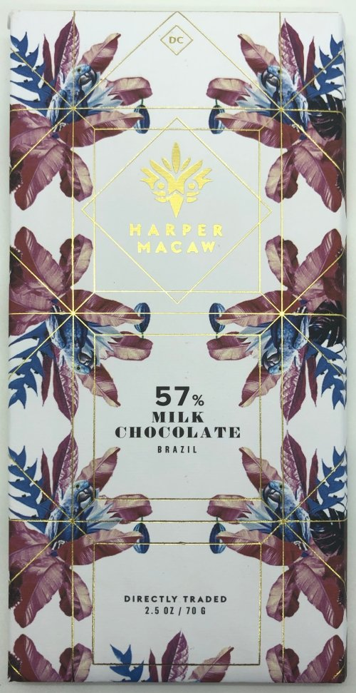 Harper Macaw Milk Chocolate