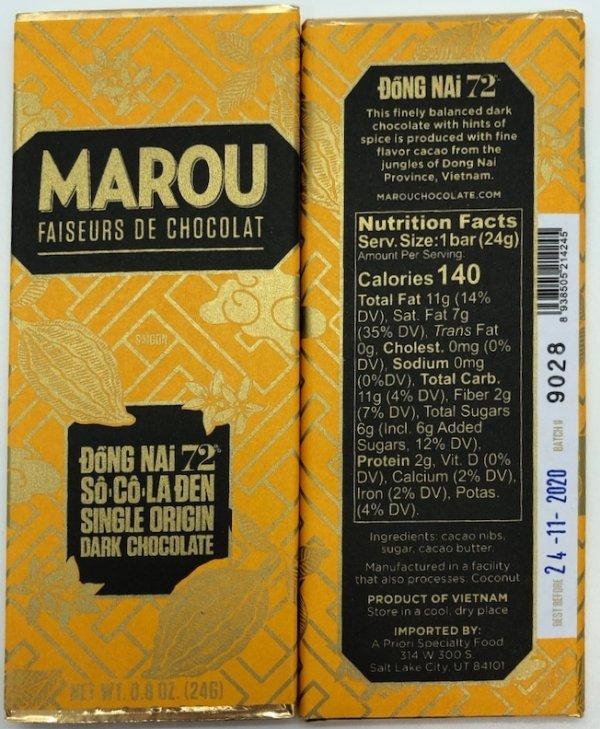 Marou- 72% Dong Nai