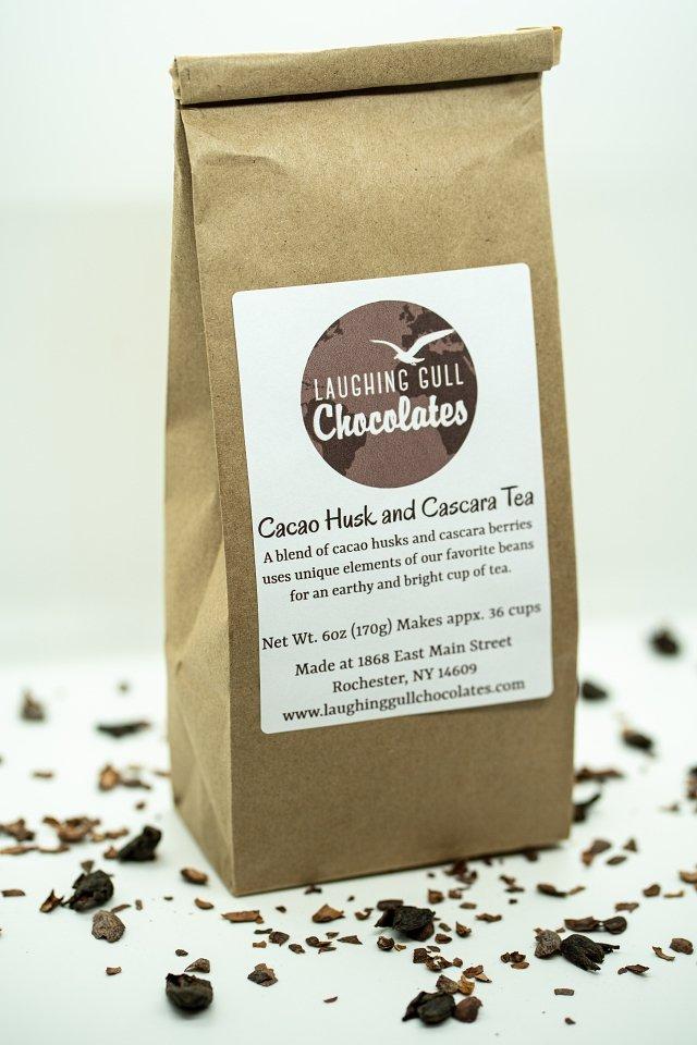 Cacao Husk and Cascara Tea