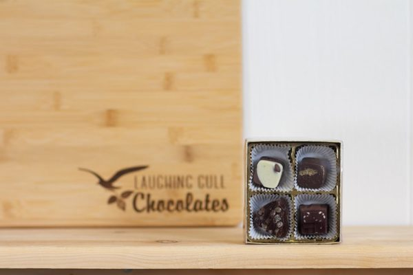 Inspired by Rochester Bites, Laughing Gull Chocolates