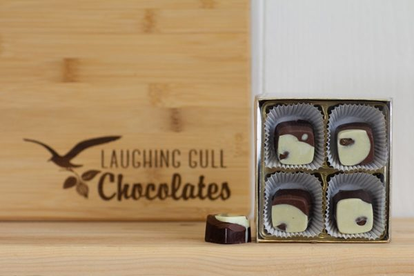 Inspired by Rochester Coffee Squares, Laughing Gull Chocolates