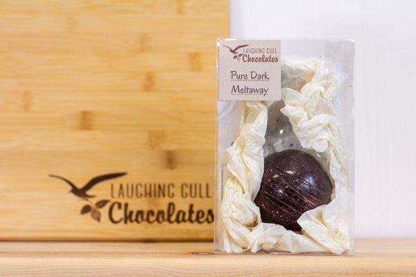 Dark Chocolate Meltaway, Laughing Gull Chocolates