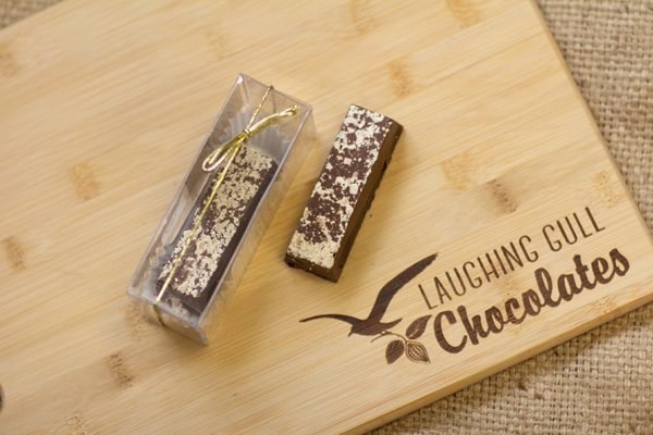 Peanut Milk Chocolate Bar, Laughing Gull Chocolates