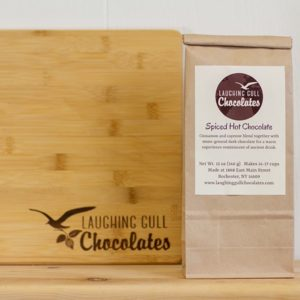 Spiced Drinking Chocolate, Laughing Gull Chocolates
