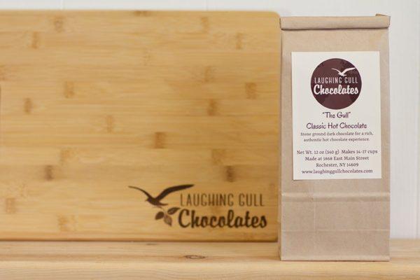 """""""The Gull"""" Drinking Chocolate, Laughing Gull Chocolates"""