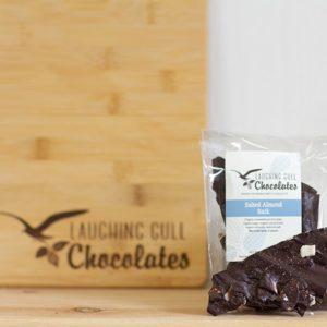 Salted Almond Bark - Laughing Gull Chocolates