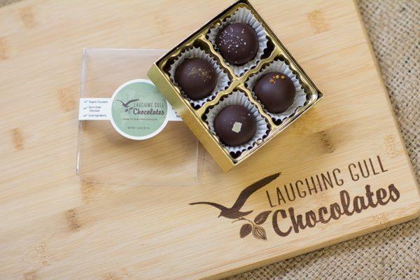 Vegan Truffles, Laughing Gull Chocolates