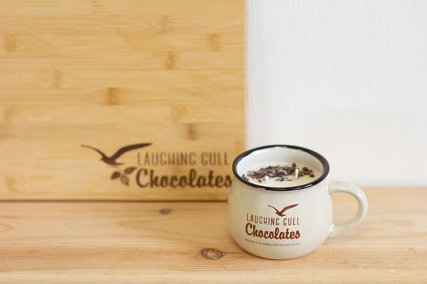 Laughing Gull Chocolates Candle