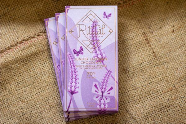 Ritual - Juniper Lavender Bar, Laughing Gull Chocolates