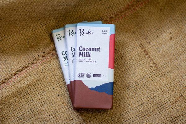Raaka Coconut Milk Bar, Laughing Gull Chocolates