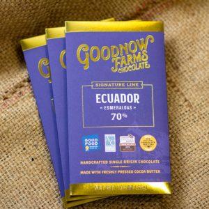 Goodnow Farms - Ecuador Bar, Laughing Gull Chocolates