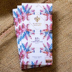 Harper Macaw Milk Chocolate Bar, Laughing Gull Chocolates