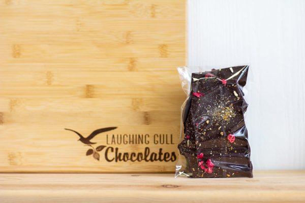 Cranberry Orange Bark, Laughing Gull Chocolates