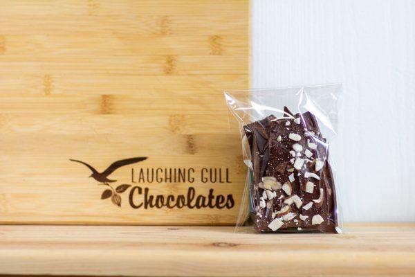 Salted Almond Bark, Laughing Gull Chocolates