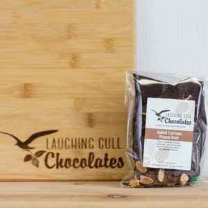 Salted Cayenne Peanut Bark, Laughing Gull Chocolates