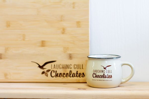 Laughing Gull Chocolates Mug