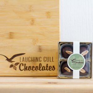 Peanut Butter Lovers Truffles, Laughing Gull Chocolates