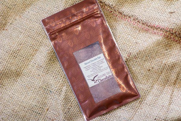 Spiced Chocolate Rub, Laughing Gull Chocolates