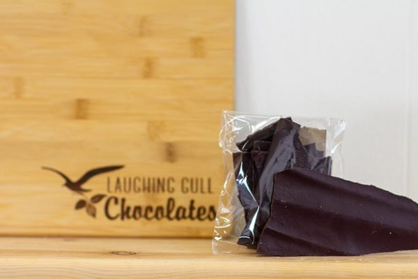 Spiced Stoneground Bark, Laughing Gull Chocolates