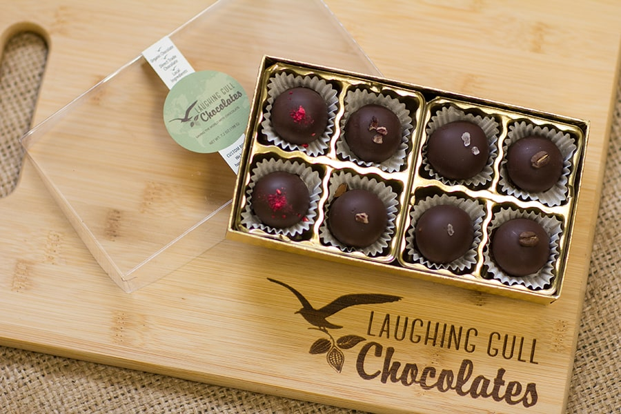 Join the Truffle Club, Laughing Gull Chocolates