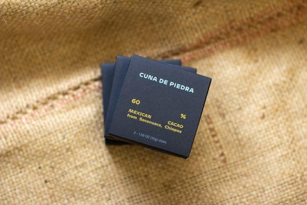 Cuna De Piedra 60% Soconusco Chiapas, Laughing Gull Chocolates