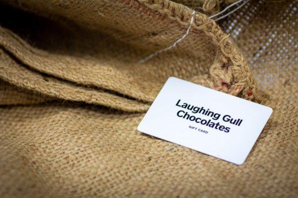 Gift Card, Laughing Gull Chocolates