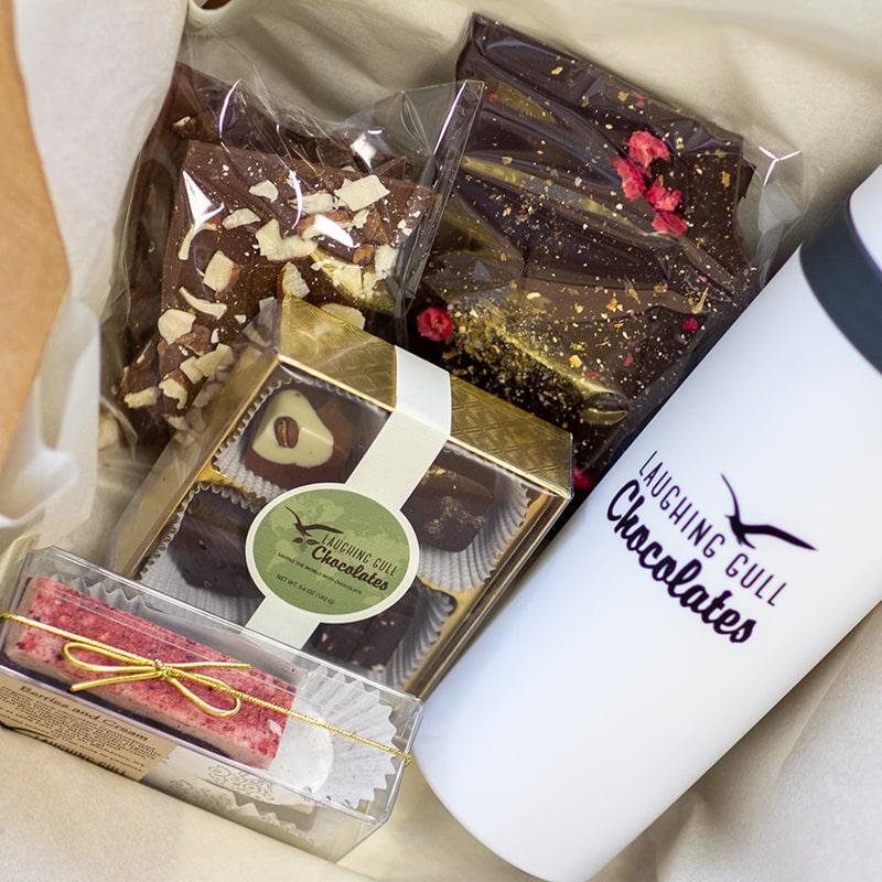 Chocolate Subscription Box, Laughing Gull Chocolates