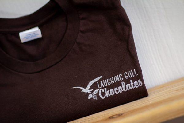 Laughing Gull Chocolates T-shirt