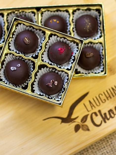 Laughing Gulls Chocolate Truffles